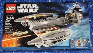 8095 Lego Star Wars Grievous Starfighter Play Set MISB