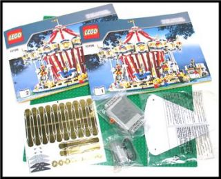 The Grand Carousel Lego 10196 New in Open Box Inner Bags SEALED