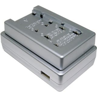 Lenmar Compact Universal Battery Travel Charger for JVC BN V615 with