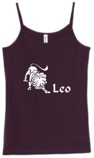 Shirt Tank Leo Zodiac Astrology Horoscope Sign