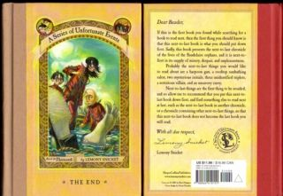 Lemony Snicket Complete Set Books 1 13 Series of Unfortunate Events