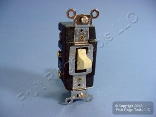 Leviton DPDT Double Pole Double Throw Maintained Switch