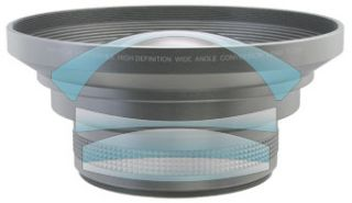 HDP 6000EX 72mm 0.79x Wide Angle Lens 4 Panasonic AG DVX100B/DVX100B/A