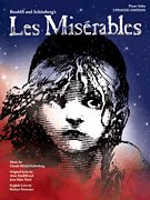 Les Miserables Solo Piano Vocal Sheet Music Book