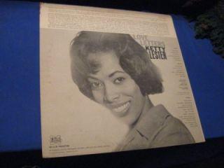 Ketty Lester LP Record Love Letters Era DL 108 Mono L K