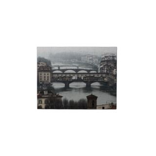 The Bridges oF Florence Italy Jigsaw Puzzle
