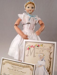 UFDC Marie Terese Doll by Alice Leverett Vogue Company Porcelain Head