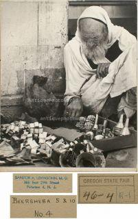 Jewish Man Cookie Cutter Seller Art Photo Levinsohn
