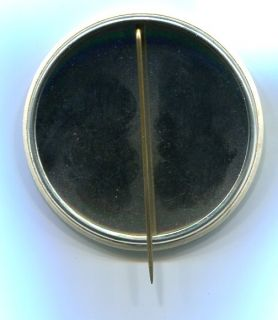 Vtg 1967 Star Trek Mr Spock Leonard Nimoy CA State Fair Pin TOS Make