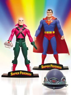 SUPER FRIENDS!: SUPERMAN AND LEX LUTHOR DELUXE ACTION FIGURE SET