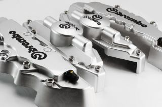 4pcs Brembo Brake Caliper Cover Lexus HS Ct LF XH CH Sliver
