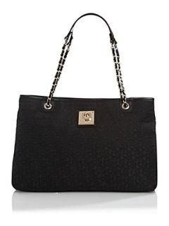 DKNY Item logo e/w tote bag