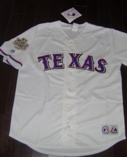 JSA Josh Hamilton Signed 2011 World Series Texas Rangers Jersey