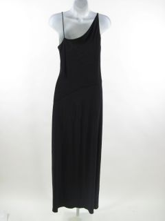 Lida BADAY Black Spaghetti Strap Full Length Dress Sz M