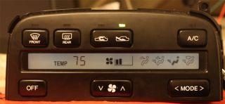 Lexus Climate Control Temp Screen LCD LS400 SC300 sc400 Repair Service