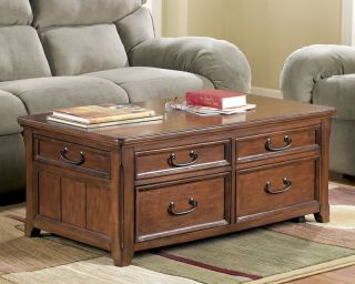 Winston Rectangular Lift Top Cocktail Coffee Table New