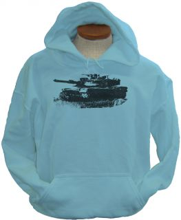 Abrams M1 M1A1 Military Army Battle Tank New Hoodie