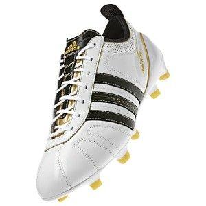 Adipure IV 4 SL FG Super Light US 7 Soccer Boot Shoe Cleat White Black