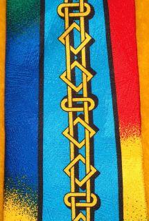 Rush Limbaugh Silk Dress Shirt Suit Tie Gold Links Rainbow Colors