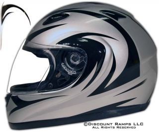 Full Face Motorcycle helmet. Our quality line of cycle helmets