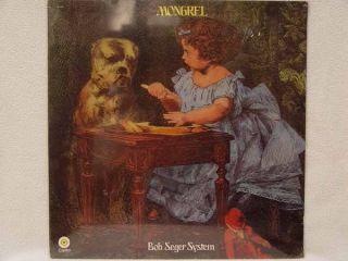 Bob Seger Mongrel LP US Pressing Still SEALED
