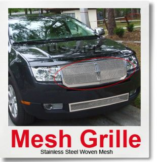 07 10 Lincoln MKX Stainless Mesh Grille Insert