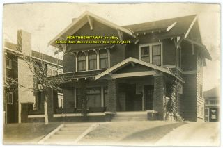 C1920 Photo Craftsman Style Home House Oklahoma City Photograph