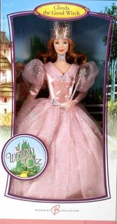 Barbie Pink Label Wizard of oz Glinda Doll New 2006