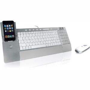 iHome IH K236LS iConnect Media Keyboard & Wireless Laser Mouse with