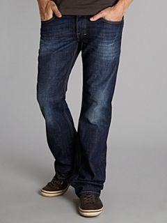 Diesel Zatiny 74W dark wash bootcut jeans Denim