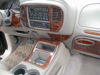 Lincoln Navigator Interior Wood Dash Trim Kit Set 2000 2001 01 2002 02