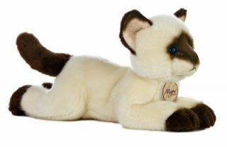 Kitty Siamese Cat Miyoni Kitten Stuffed Animal Toy 10843 New