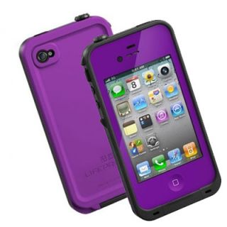 New Lifeproof Apple iPhone 4 4S Case Life Proof Generation 2 Purple