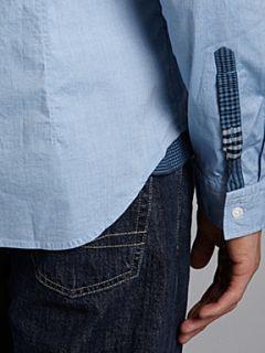 Hugo Boss Long sleeved oxford shirt Sky Blue