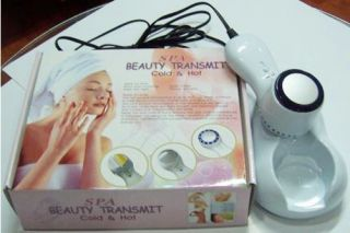 Cold Facial Hammer Blue LED Light Photon Skin Beauty