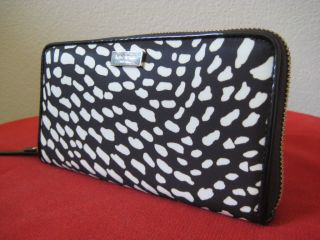 Kate Spade Lindenwood Neda Wallet Safari Print