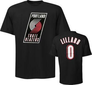 Damian Lillard Portland Trail Blazers Youth Name and Number T Shirt