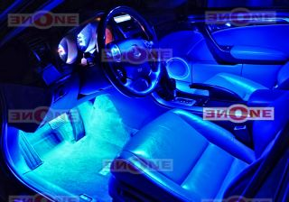 Tube Blue LED Interior Neon Lights Kit Blue 108 LEDs