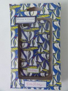Lilly Pulitzer iPhone 4G 4GS Mobile Cell Phone Cover Case Docksider