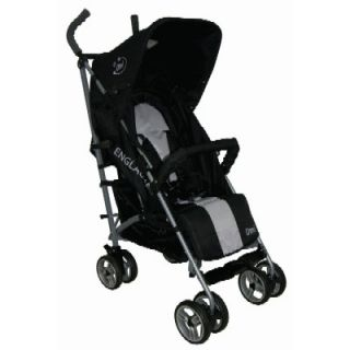Englacha OMI Lightweight Baby Stroller Black Travel Folding 3 Section