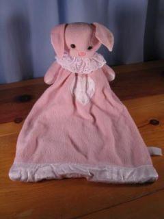 Pre Loved Dakin Bunny Security Blanket Lovey PAL Lovie
