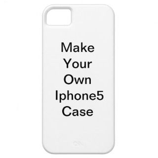 Make Your Own Iphone5 Case iPhone 5 Cover
