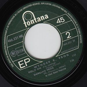 Wynder K Frog French EP RARE Monster Mod Hammond Soul Dancer 45 7