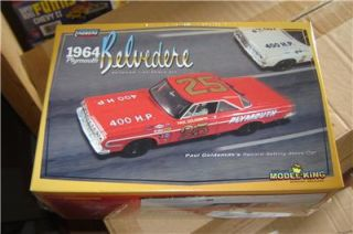25 Stock Car Lindberg Plastic Model Kit Limited