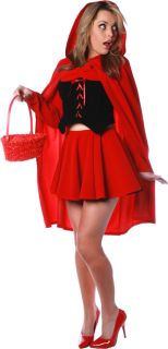 Little Red Riding Hood Costume Sexy Women Princess s M L New