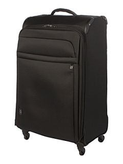 Antler Zero Black 82cm 4 Wheel Case