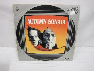 Laserdisc Autumn Sonata Ingrid Bergman Liv Ullmann