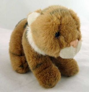 Gund World Wildlife Fund Small Plush Striped Tiger Cub