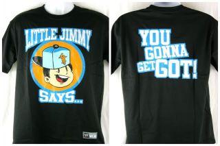 Truth WWE Little Jimmy T Shirt New