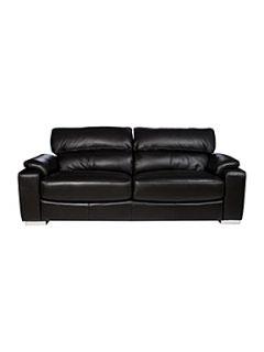 Matera Black Sofa Range